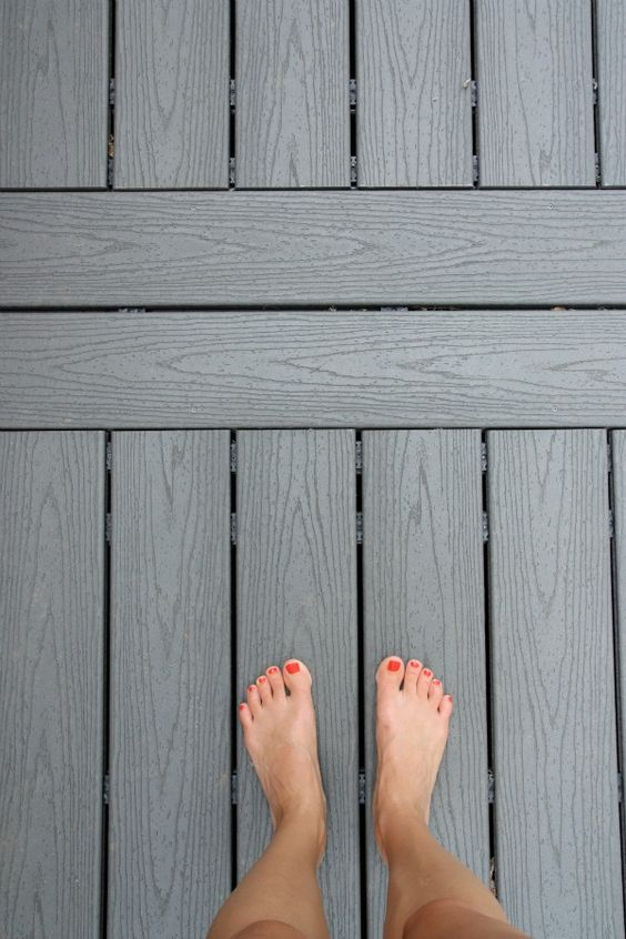 Komposittrall ger inga stickor i fötterna