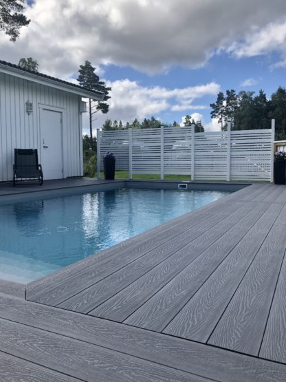 komposittrall poolområde