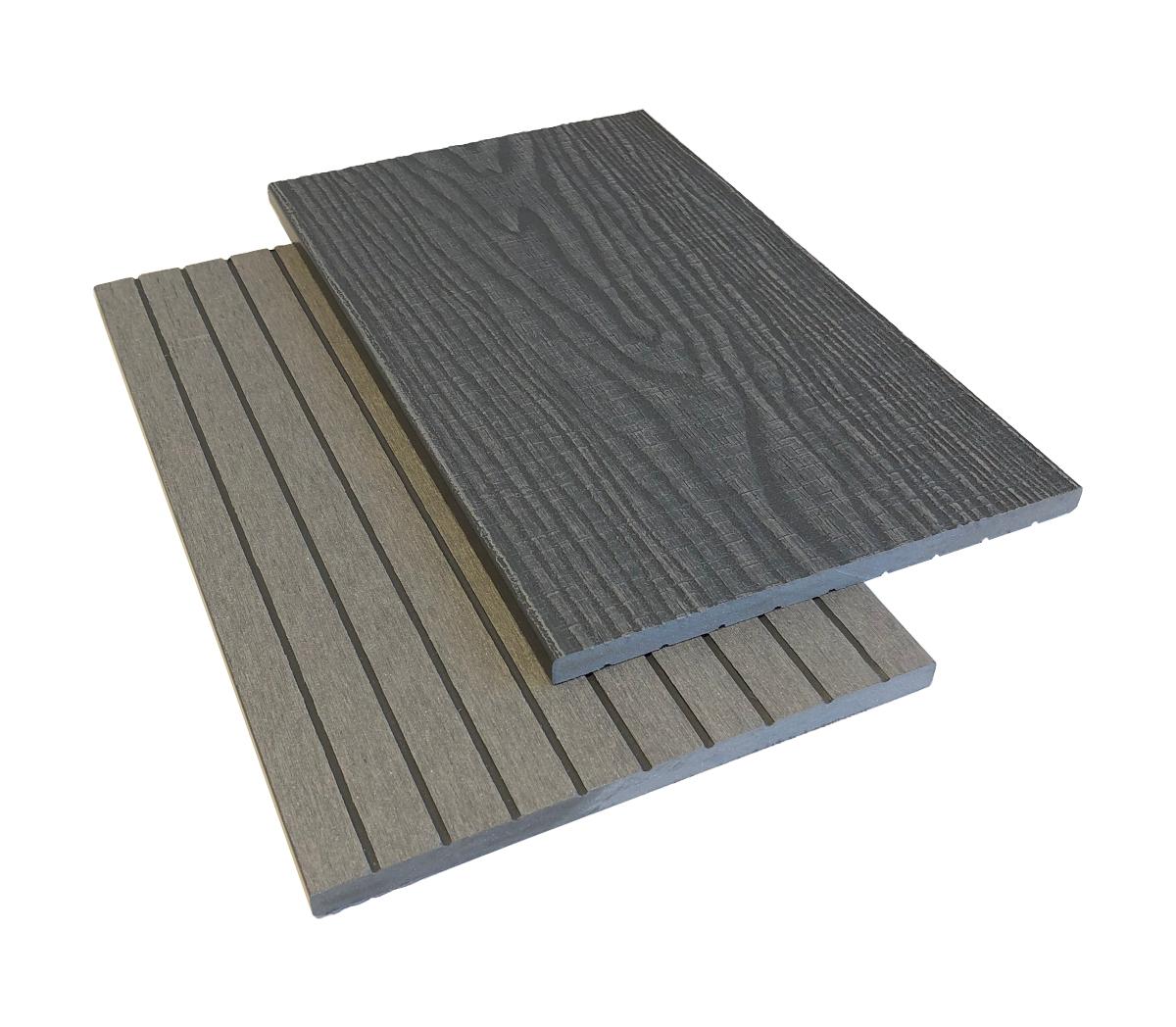 vändbar täcklist trästruktur eller rillad yta