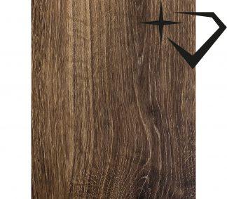 brunt vinylgolv lämplig för hall och kök